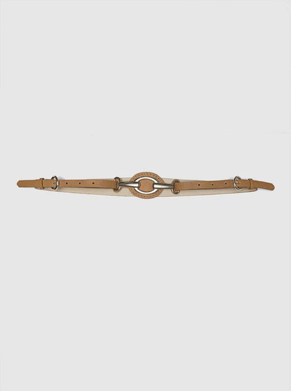LIGHT BROWN THIN BELT
