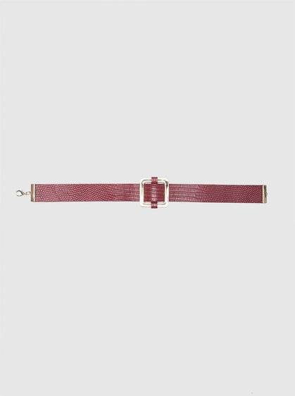 Accessory - RED CHOKER
