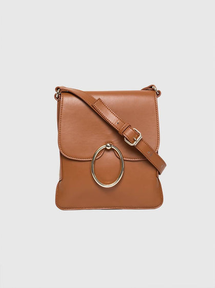Accessory - RING DETAILED BROWN BAG
