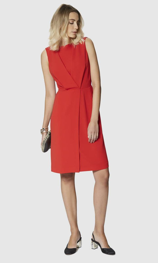Apparel - A-LINED RED DRESS