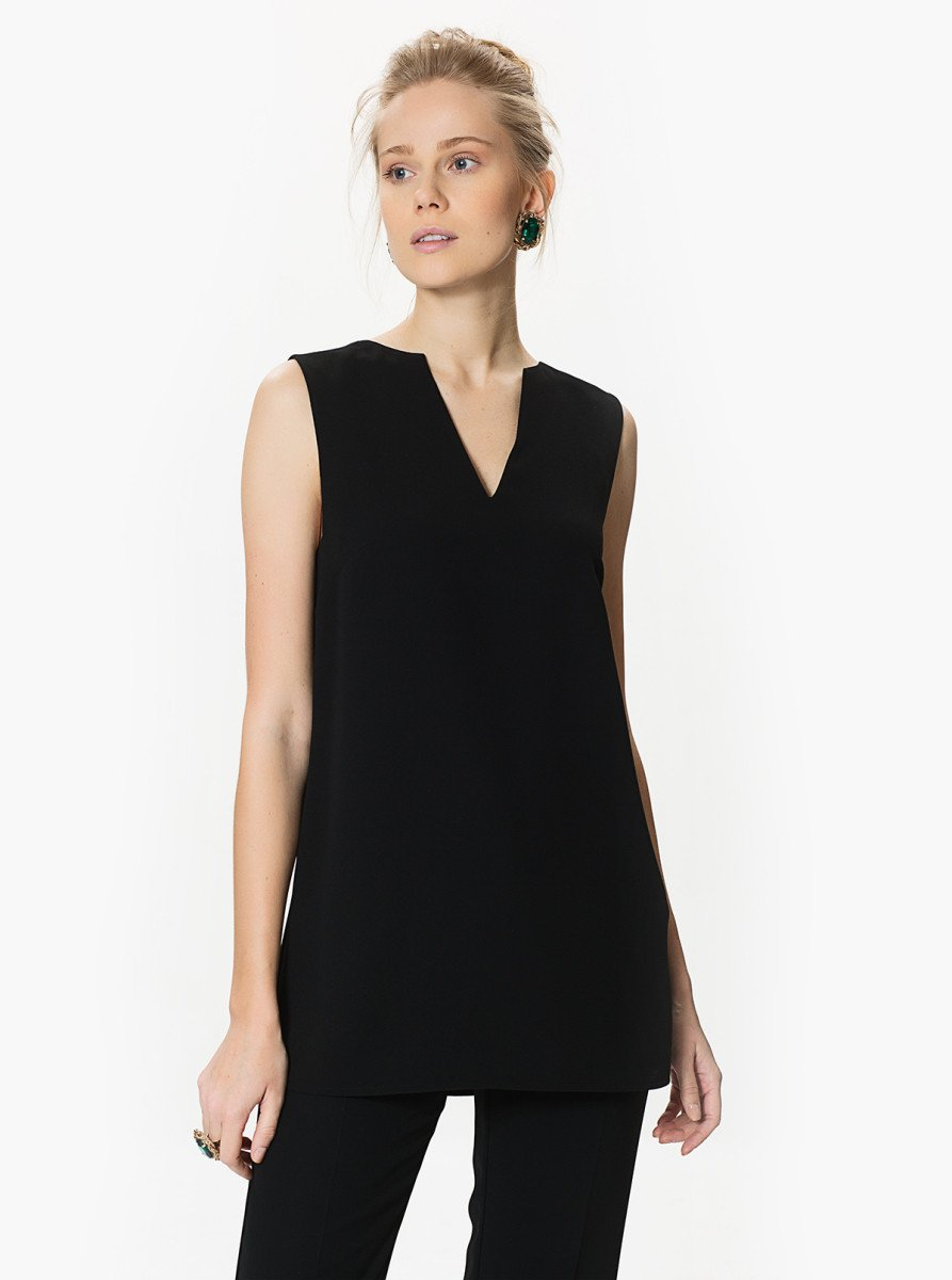 ROMAN USA-O-Ring Back Detail Top-- [BLACK]