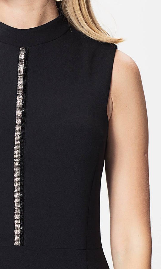 Apparel - BLACK SHEATH DRESS
