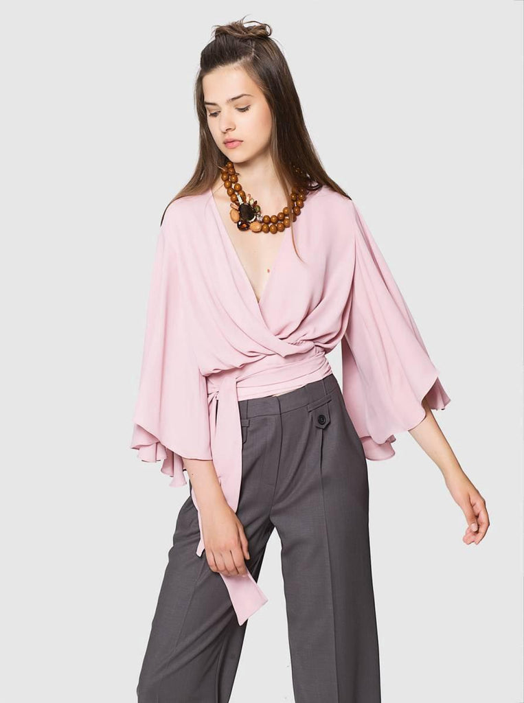 Apparel - BUTTERFLY SLEEVE TOP