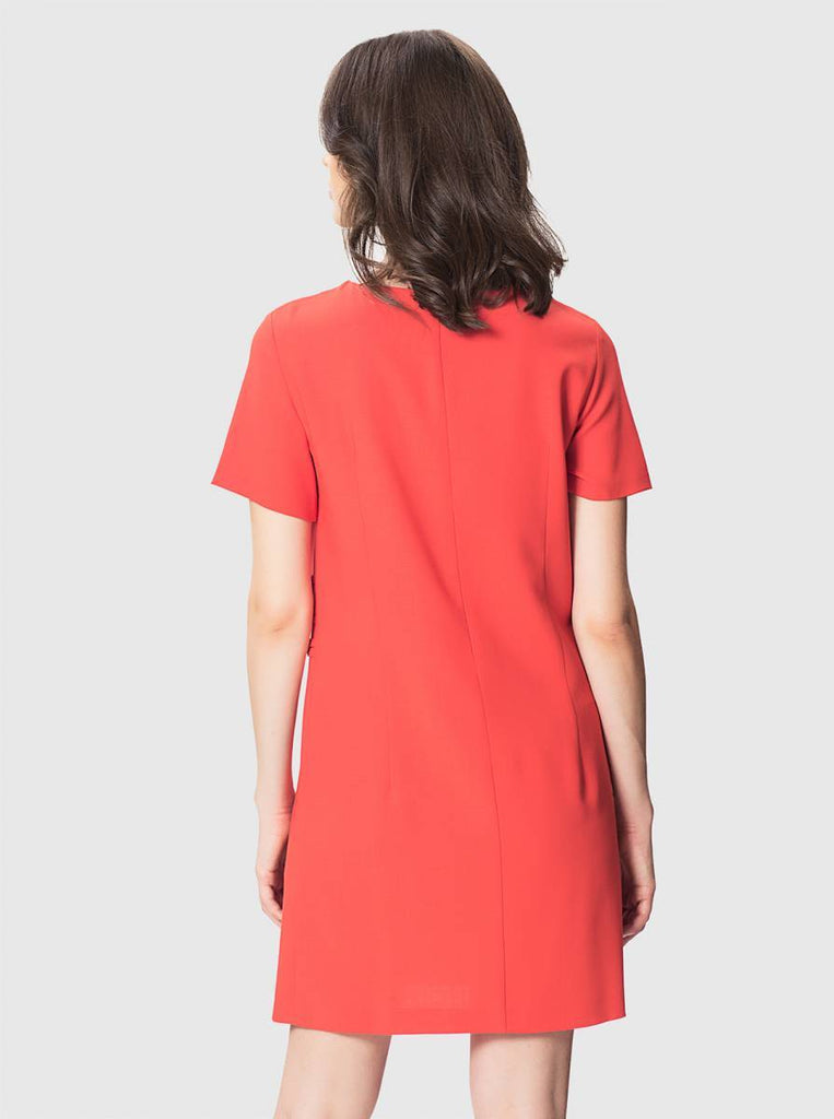 Apparel - BUTTON FRONT SHIFT DRESS