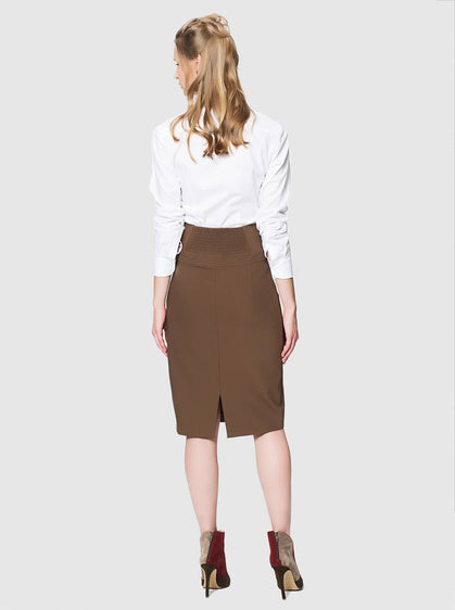 Apparel - BUTTON FRONT SKIRT