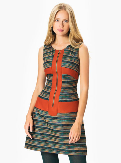 Apparel - Colorful Print Dress