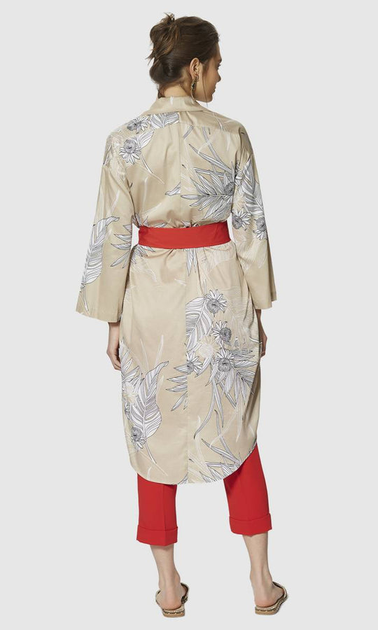 Apparel - COTTON DRESS WITH BELT