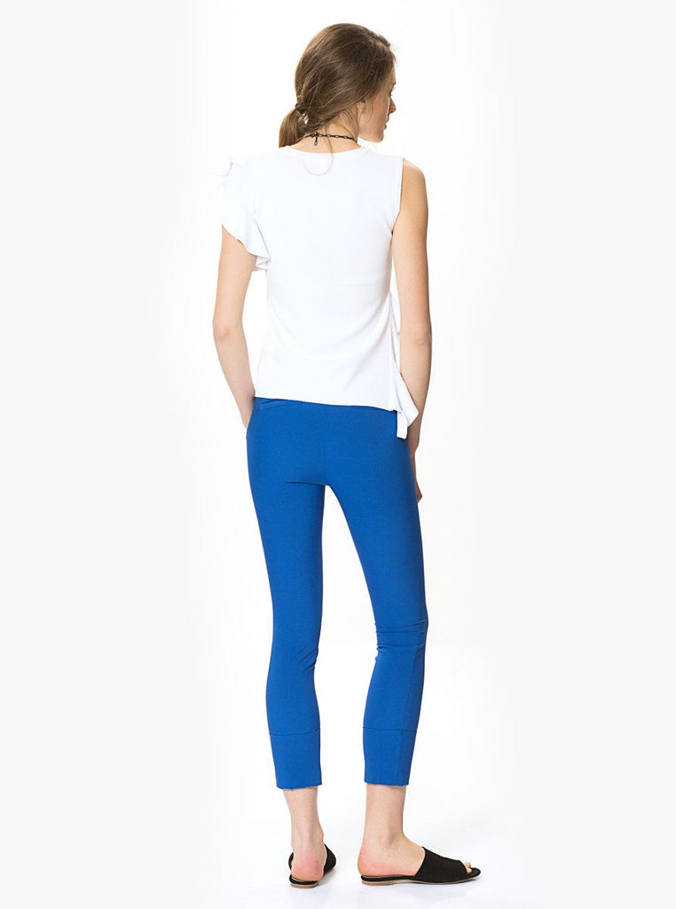 Apparel - CUFFED STRETCHY PANTS
