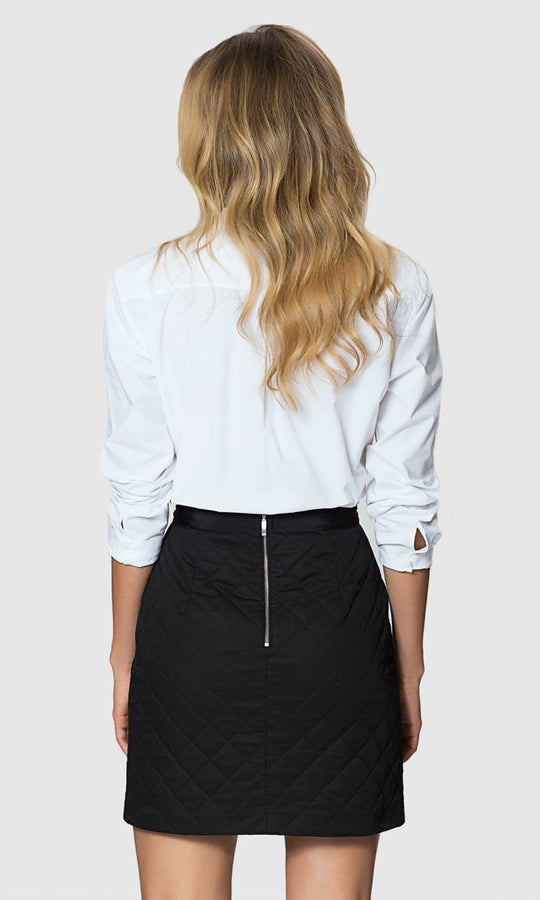 Apparel - DIAMOND DETAIL MINI SKIRT