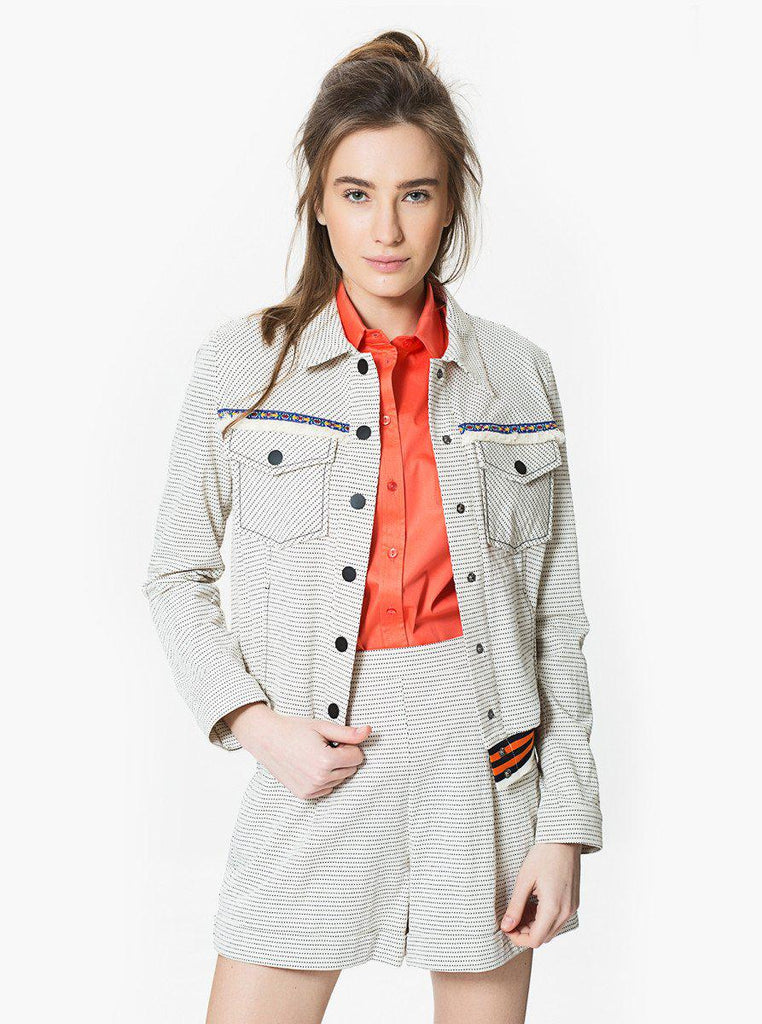 Apparel - Embroidered Jacket