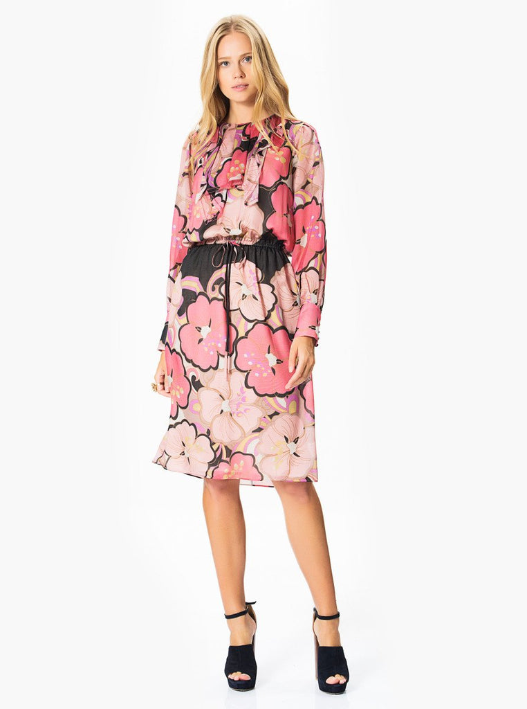 Apparel - Floral Pink Dress