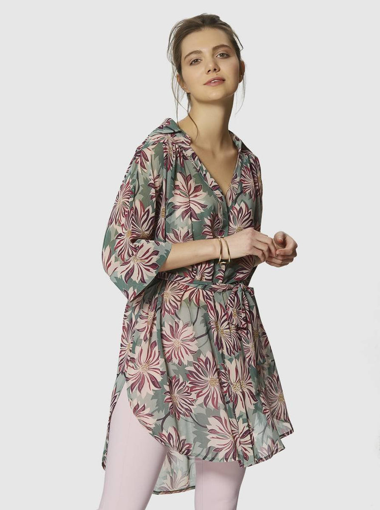 Apparel - FLORAL TUNIC