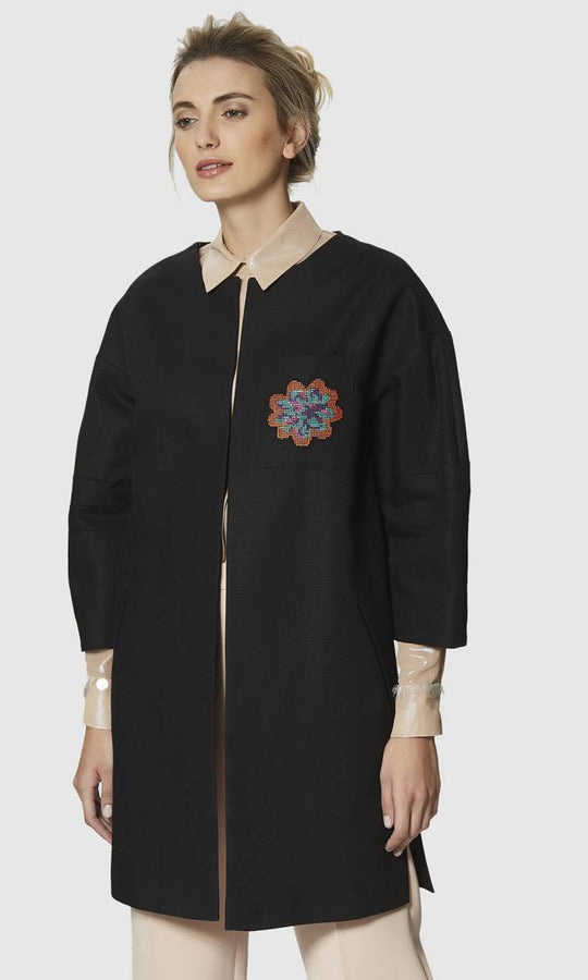 Apparel - FLOWER POCKET JACKET