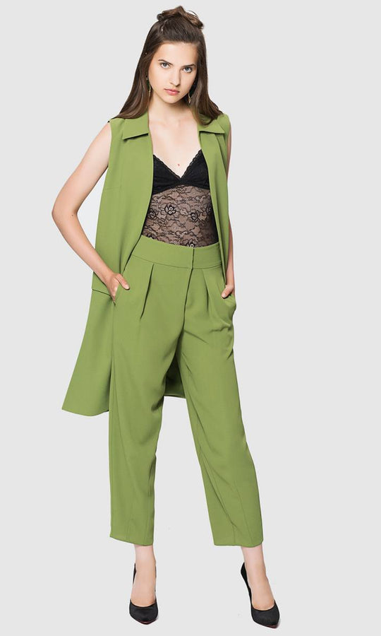 FLUID CROPPED PANTS
