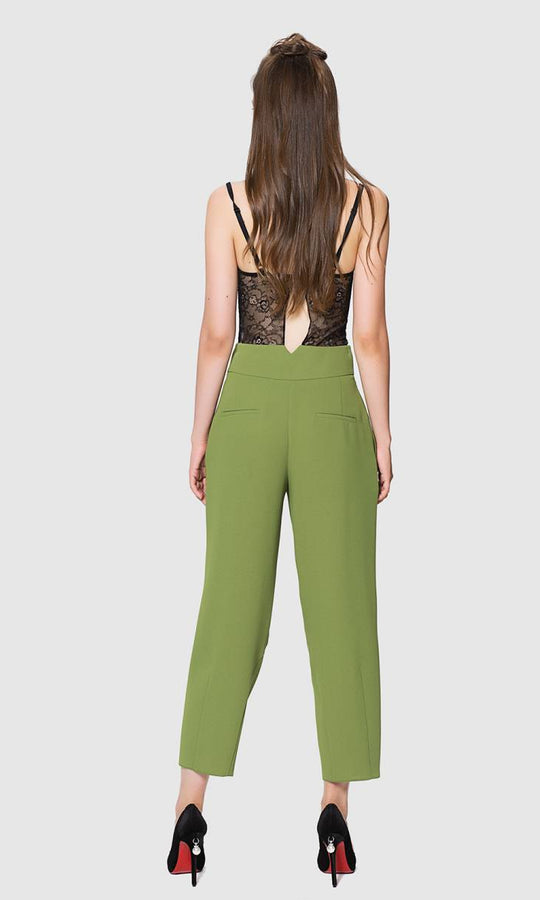 Apparel - FLUID CROPPED PANTS