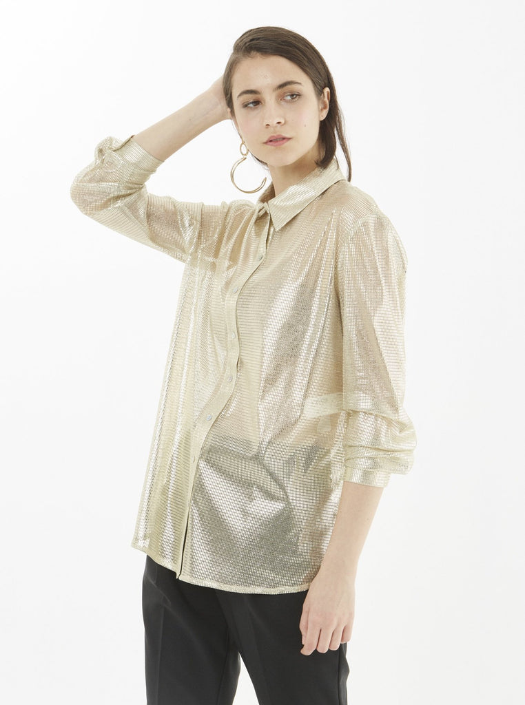 Apparel - GOLD BLOUSE