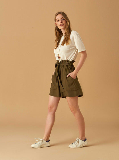 Apparel - HIGH WAIST BOXY SHORTS