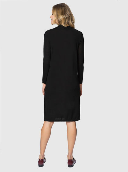 Apparel - KNIT KNEE-LENGTH DRESS