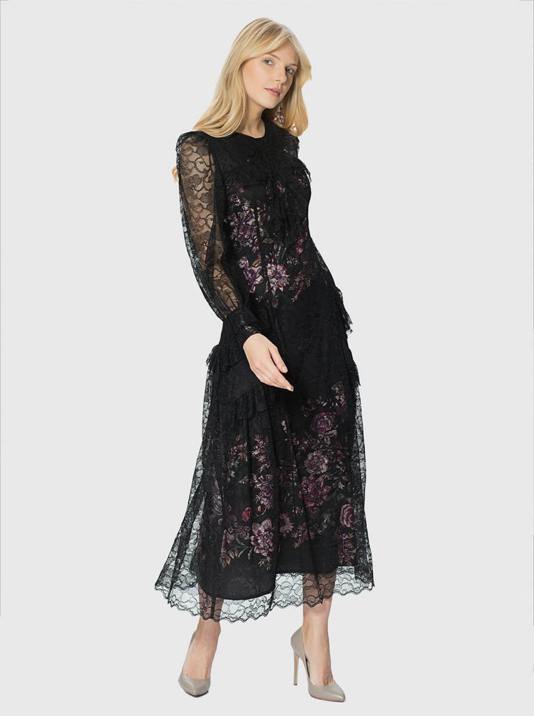 Apparel - LACE MIDI DRESS