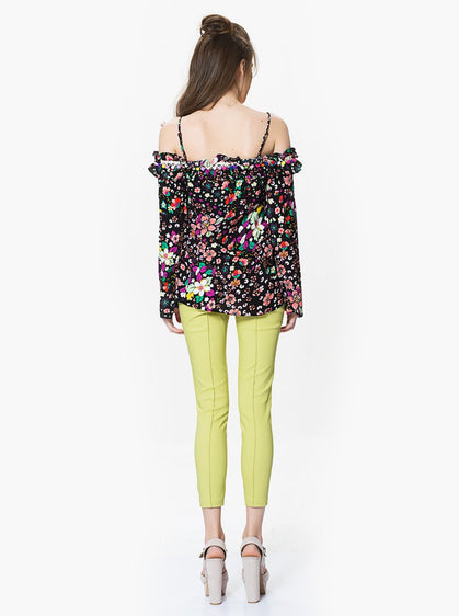Apparel - Lime Green Skinny Pants