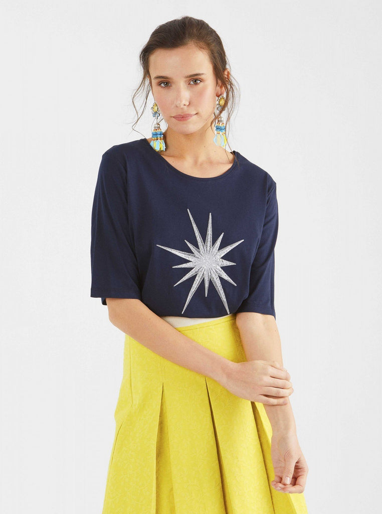Apparel - NAVY STAR T-SHIRT