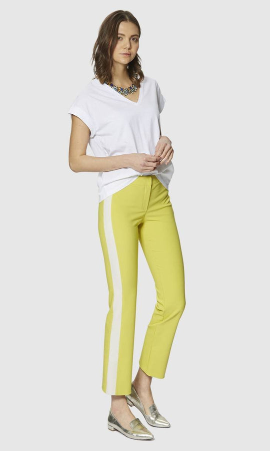 Apparel - SIDE STRIPE STRAIGHT PANTS