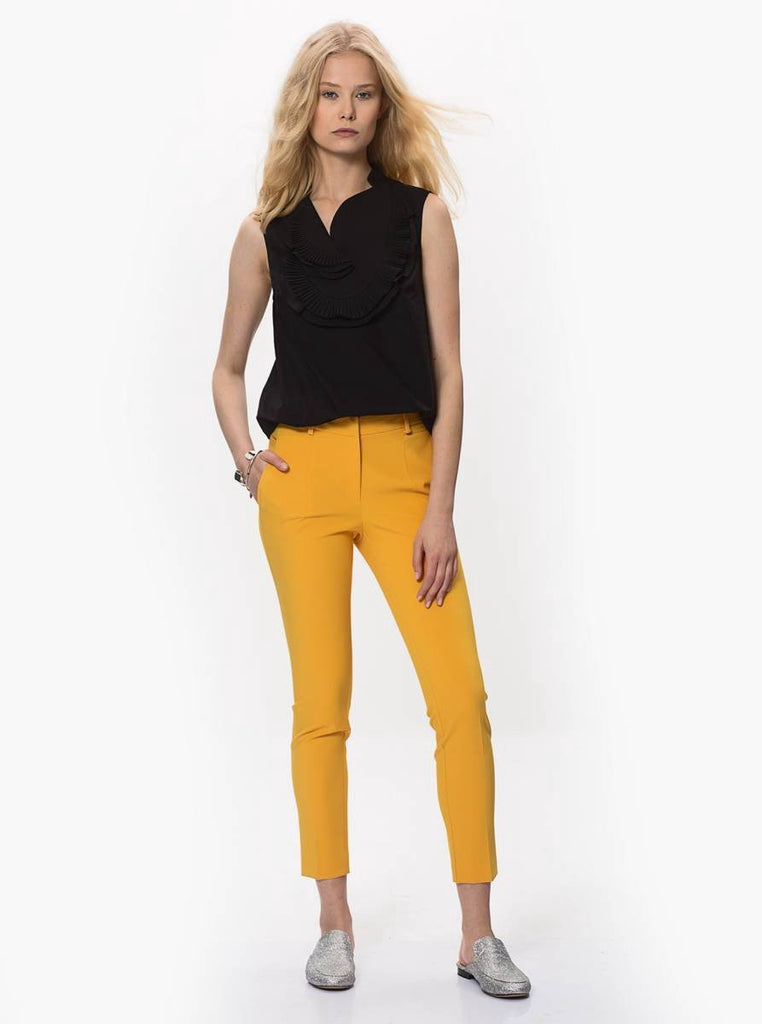 Apparel - SKINNY CROPPED PANTS