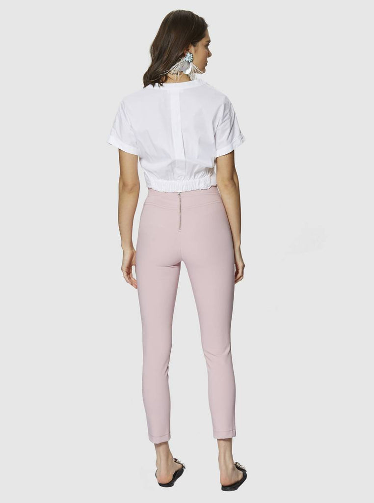Apparel - SKINNY PANTS WITH ZIPPER