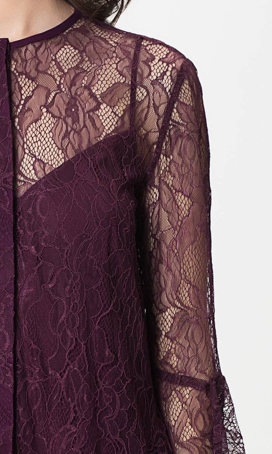 Apparel - SLEEVE DETAILED LACE TUNIC