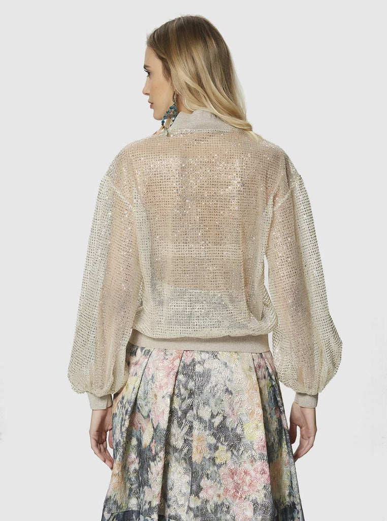 Apparel - TRANSPARENT GOLDEN JACKET