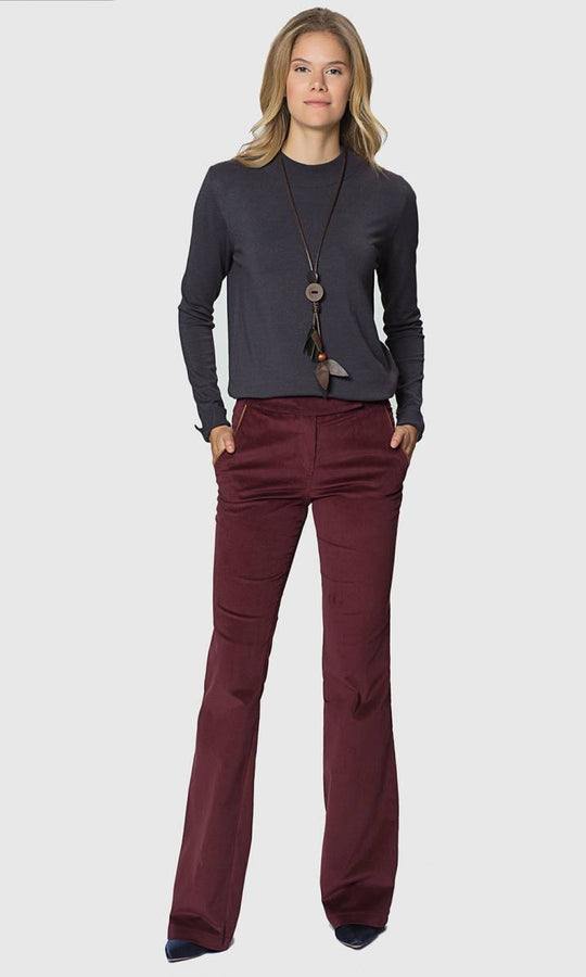 Apparel - VELVET LONG PANTS