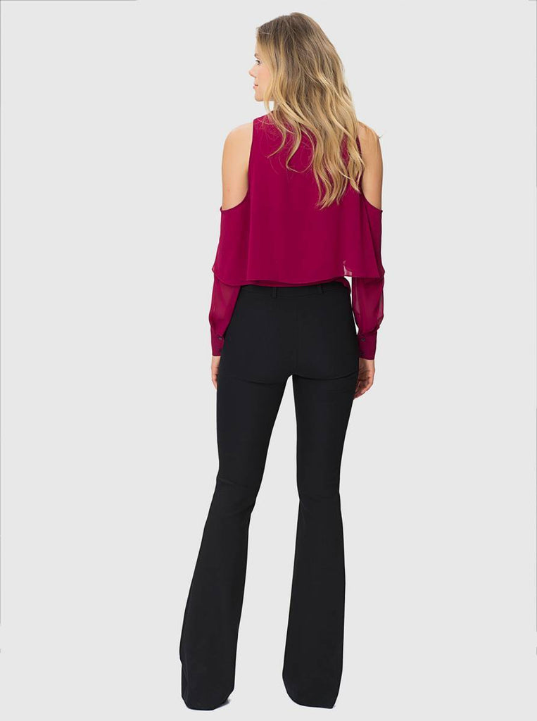 Apparel - WIDE LEG LONG PANTS
