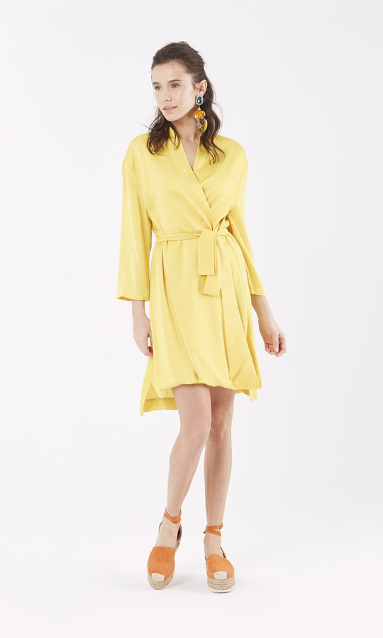 Apparel - WRAP DRESS