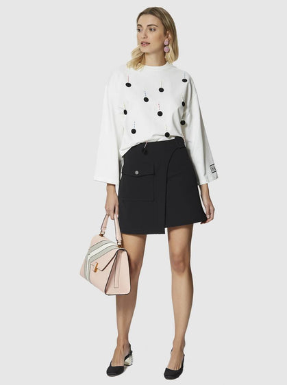 Apparel - WRAP MINI SKIRT