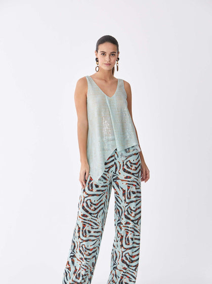 Deco Safari Wide Leg Pant