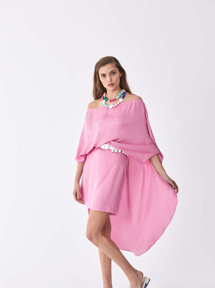 Dolman Cape Minidress