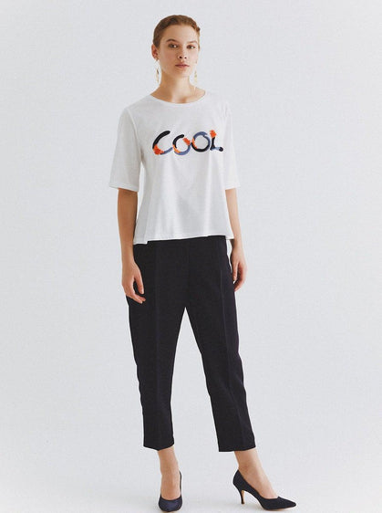 """Cool"" Embroidered T-Shirt"