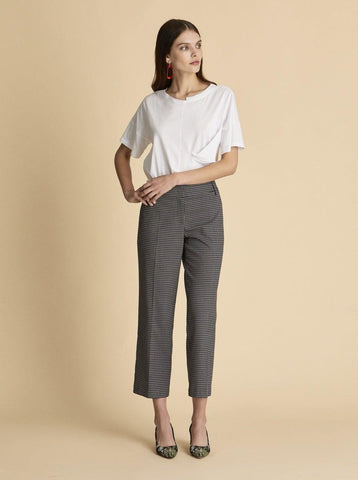 LONG AND WIDE LEGGED Black PANTS