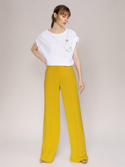 ROMAN USA- [MUSTARD] Power Pant-- [YELLOW]