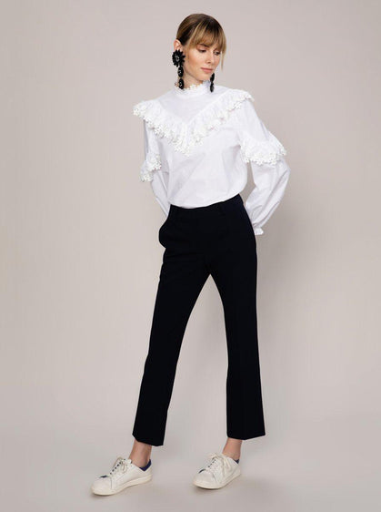 Straight Leg Ankle Cut Pant