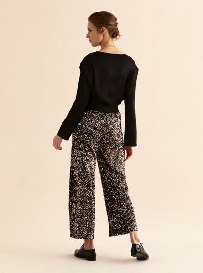 Ankle Cut Shimmer Pants
