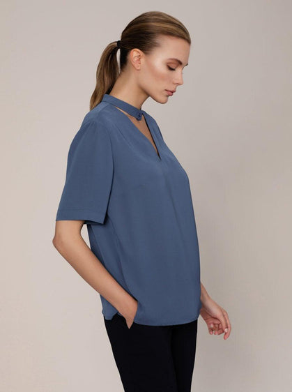 Essential Keyhole Blouse