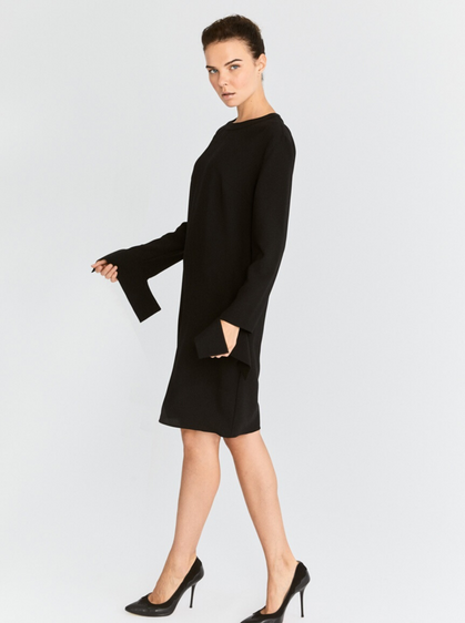 Loose Barrel Cuff Dress