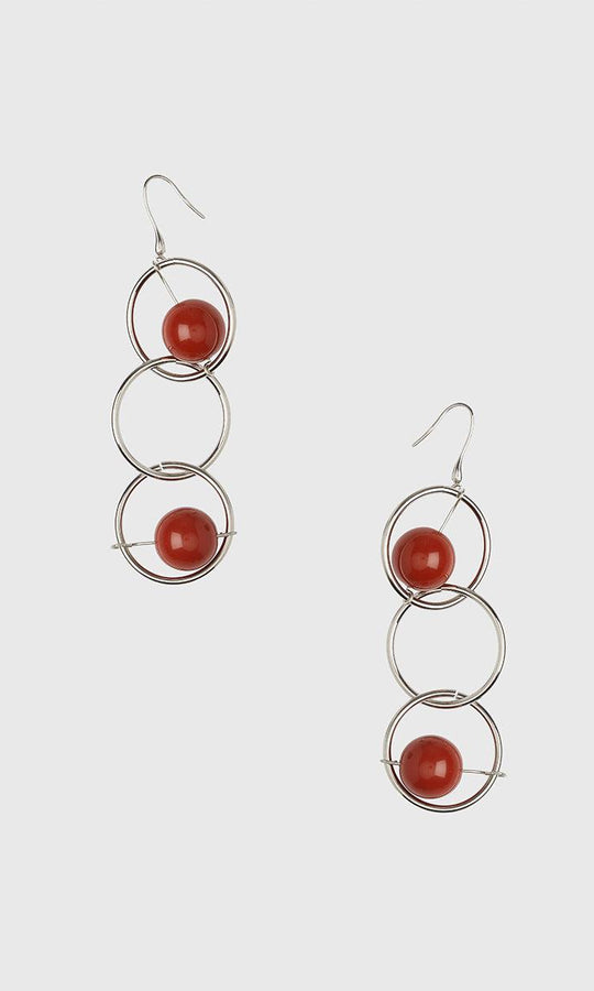 LAYERED HOOP EARRING