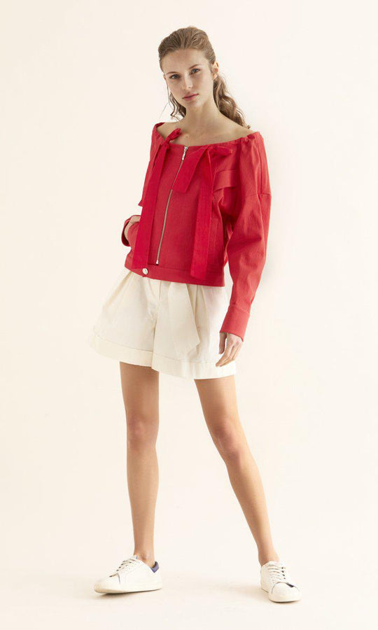 OFF SHOULDER JACKET