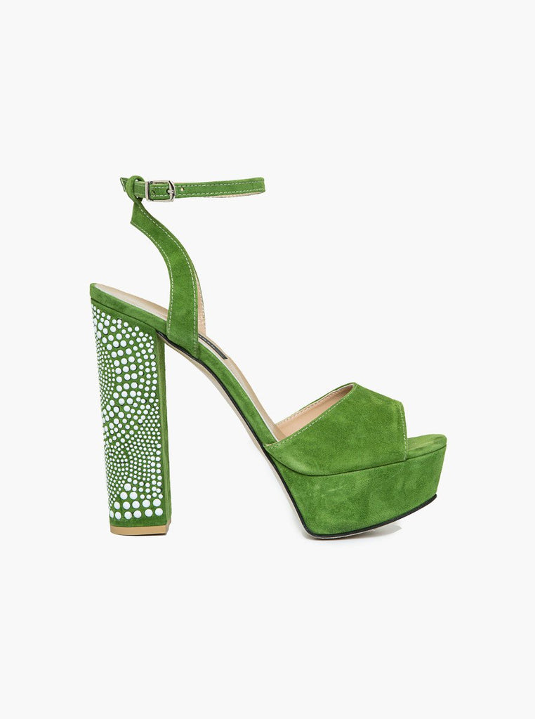 Shoes - GREEN HEEL