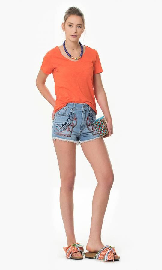Top - Roman Orange T-Shirt