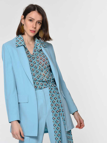 Aqua Single Breasted Blazer