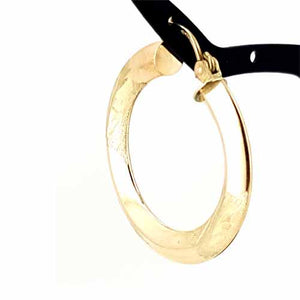 Women's 10k Yellow Gold Hoop Earrings
