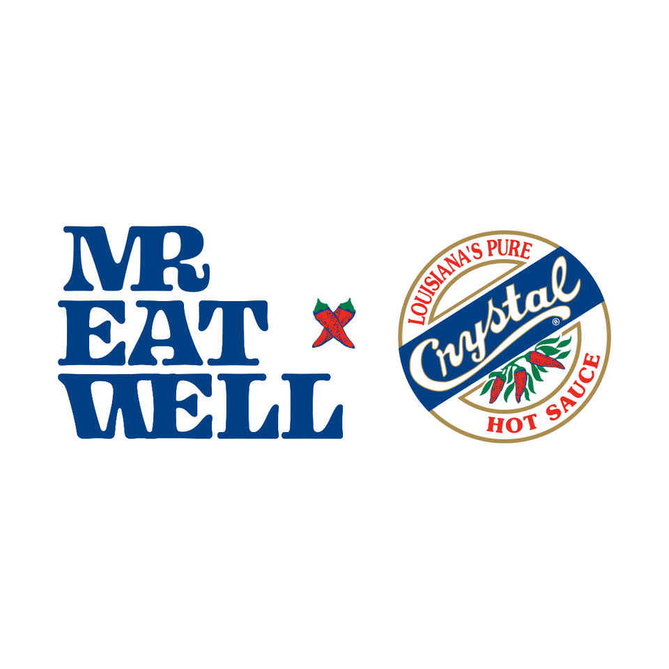 MR E x Crystal Hot Sauce | MR EATWELL